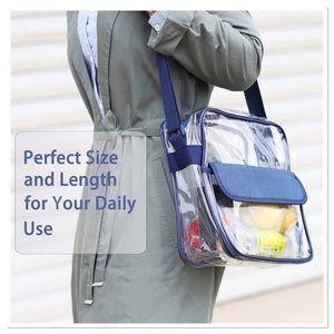 Clear Messenger Bag BPA Free & Waterproof